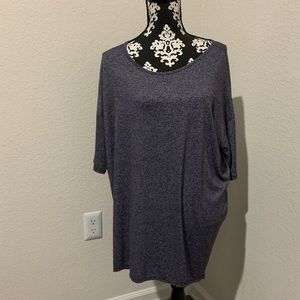 Lularoe Gray purple Irma